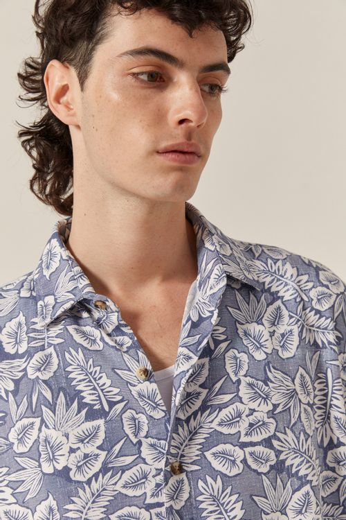 CAMISA LINO FOREST