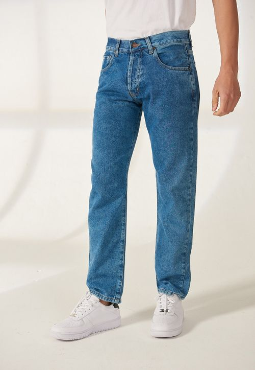 JEAN TAPERED BLUE